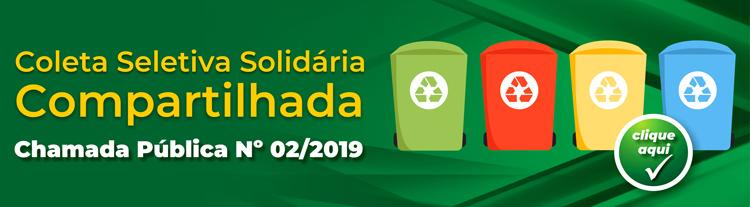 Edital Coleta Seletiva 02 2019