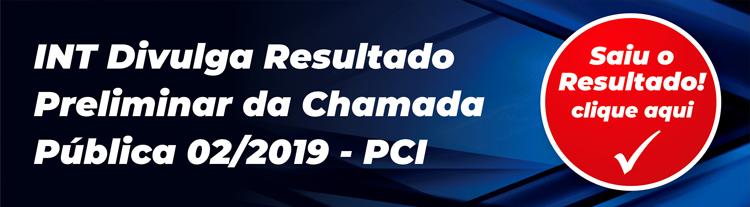 banner resultado preliminar pci 02 2019